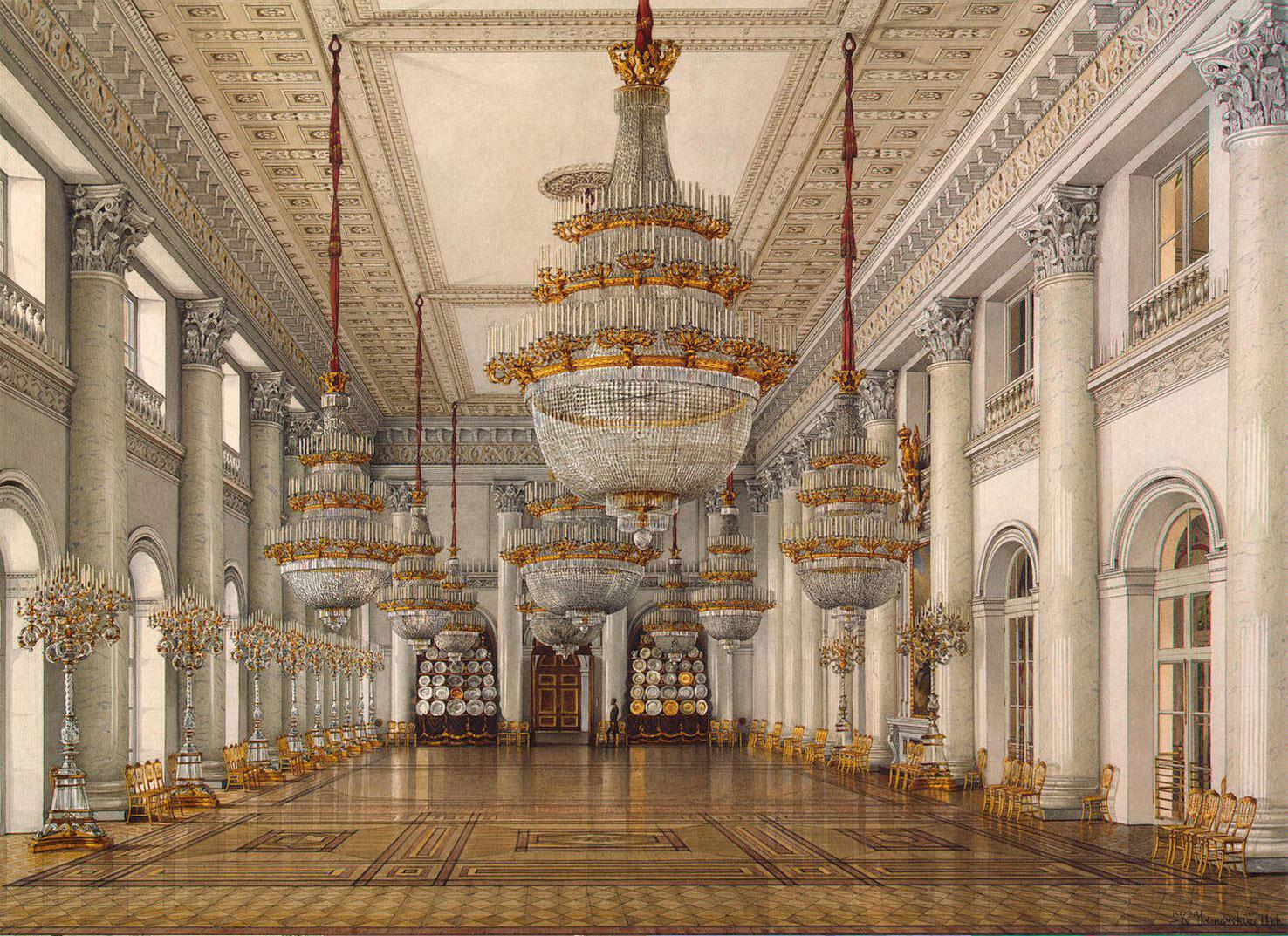 Дворцовые интерьеры фото