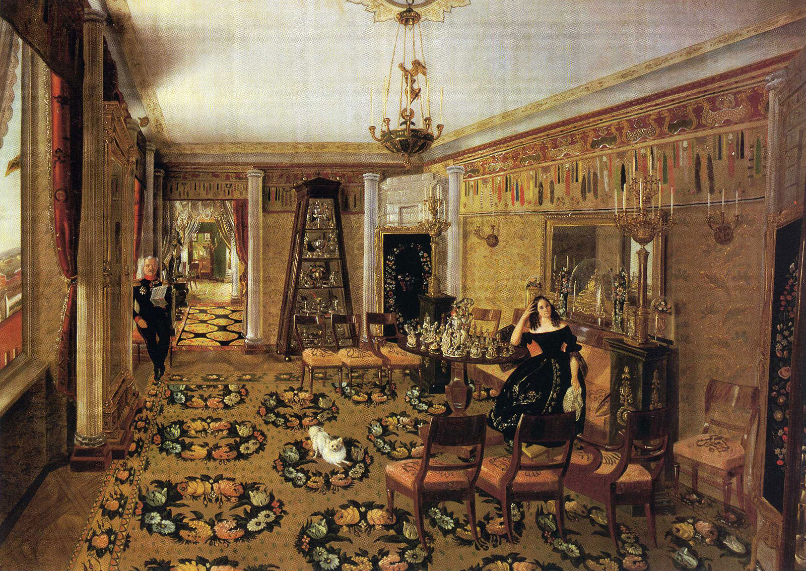 19 век интерьер